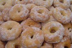 RECEITA DE VOVÓ - SÓ RECEITAS SIMPLES: Rosquinhas fritas açucaradas