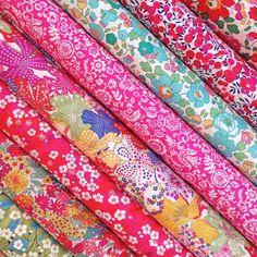 Liberty Fabric Tana Lawn 8 Fat Sixteenths by Alicecarolinesupply
