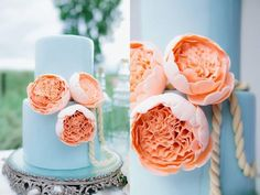 Wedding Cakes from Amy Beck Cake Design - MODwedding