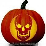 Free Pumpkin Carving Patterns - Stencils for Scary, Not so scary, Creative, Cartoon Pumpkins - Dot Com Women Pumpkin Carving Stencils Free, Halloween Pumpkin Stencils, Disney Pumpkin Carving, Easy Pumpkin Carving, Pumpkin Carving Patterns, Free Stencils, Halloween Skull, Halloween Pumpkins, Halloween Labels