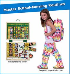 Team Up with Your Kids to Master School-Morning Routines!