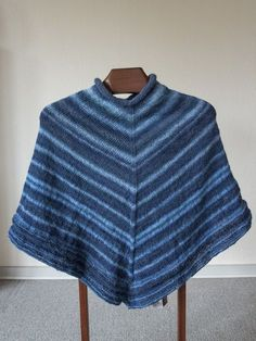 Shawl Cardigan, Knitted Poncho, Drops Design, Free Pattern, Knit Crochet, Pullover, Sweaters, Cardigans, Sewing