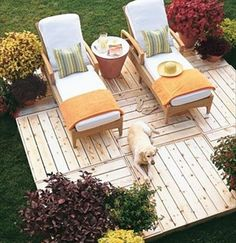 Are you looking for how to build floating deck plans step by step guide? I have here how to build floating deck plans guide you will love. Outside Living, Outdoor Living, Pallet Furniture, Outdoor Furniture Sets, Furniture Plans, Deck Furniture, Antique Furniture, Modern Furniture, Furniture Design