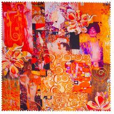 Klimt Print which is essentially my palette