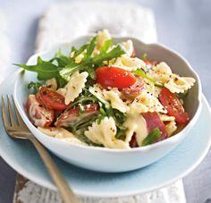 Nudel-Kabanossi-Salat mit Joghurtmayonnaise Rezept | LECKER