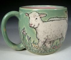 Hand Painted Pottery...