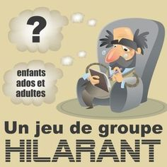 Un jeu de groupe très drôle à faire avec les enfants, les ados, la famille ou les amis. Rires assurés ! Games For Kids, Diy For Kids, Activities For Kids, Children Games, Family Games, Classroom Games, Team Building Activities, Pajama Party, Adolescence
