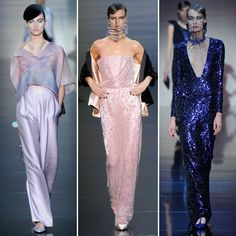 2012 Paris Couture Fashion Week: Armani Privé
