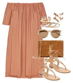 """""""Style #10547"""" by vany-alvarado ❤ liked on Polyvore featuring ADAM, Yves Saint Laurent and MICHAEL Michael Kors"""