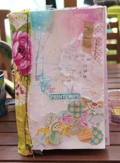 visual journal by Chez Lililali ~ happy & pretty colors
