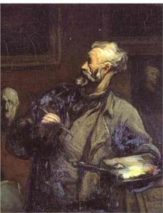 """Honore Daumier: """"I have my art to comfort me, but what have these wretched men and women to live for?"""""""