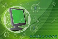 Monitorear Las Tecnologías De Fondo. Ilustraciones Vectoriales, Clip Art Vectorizado Libre De Derechos. Pic 34370673. Map, Computers, Filing Cabinets, Tecnologia, Blue Prints, Pictures, Location Map, Maps