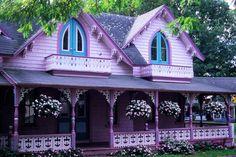 Marthas Vineyard Gingerbread Cottages