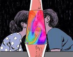 lava lamp love