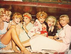 """""""Some Like it Hot"""". Can you spot Tony Curtis?"""