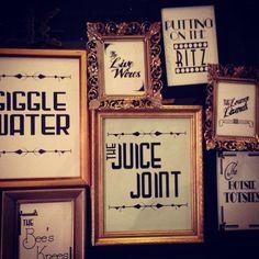 Giggle water --- so cute!!