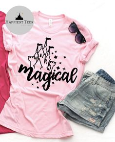 Excited to share this item from my #etsy shop: Magical Disney Shirt | Magic Kingdom Shirt | Disney Womens Shirt| Disney T Shirt | Matching Family Disney Shirts | Disney Vacation Shirt Disney Vacation Shirts, Disney Shirts For Family, Disney Vacations, Disney Trips, Matching Disney Shirts, Magic Kingdom, Hogwarts, Colorful Shirts, Waiting