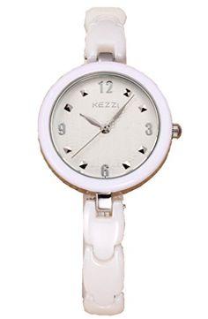 Kezzi Women's Watches K1234 Fashion Luxury Weave Pattern Quartz Analog Silver Ceramic Bracelet Wrist Watch Kezzi http://www.amazon.com/dp/B012BZYGAQ/ref=cm_sw_r_pi_dp_XCkSvb0GXQ53S