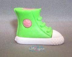 Green Sneaker Fashion Gomu Collectible Eraser www.thegamecapital.com #gomu #gomuerasers #erasers