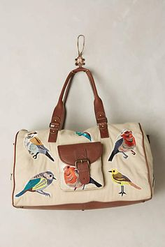 Birdwatcher Weekender - anthropologie.com