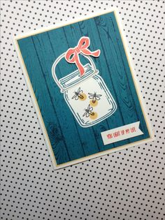Love the new Jar of Love stamp set and dies from Stampin' Up!  Brings back memories of times past.  Created by Linda Madison