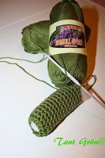 TANT GRÖN: Virka en midsommarkrans Fingerless Gloves, Arm Warmers, Crocheting, Crochet Patterns, Crafts, Fingerless Mitts, Crochet, Manualidades, Crochet Pattern