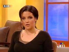 Image of Lisa Marie Presley CTV News-Canada 5