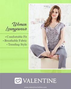 Why look good when you can look Beautiful even when at home. Quirky range Women Loungewear designed just for you. Shop now at https://valentineclothes.com/women/loungewear.html #Women #Relaxwear #Comfort #Style #Fashion #Fashionista #Valentine #ValentineClothes #MadewithLove #HappyShopping