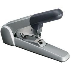 Leitz 5552 Heavy Duty Flat Clinch nietmachine grijs  |  De Leitz 5552 Heavy Duty nietmachine is uitgerust met Flat Clinch technologie waardoor compacter wordt gearchiveerd. Het geïntegreerde venster geeft aan wanneer de nietjes bijgevuld moeten worden waardoor u nooit voor verassingen komt te staan.