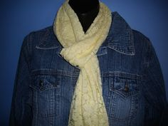 make your own scarf: 7 scarves for 7 days!