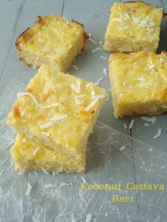 Coconut Cassava Bars {Gluten-Free}