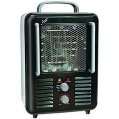Comfort Zone Deluxe Milkhouse Heater And Fan (pack of 1 Ea)