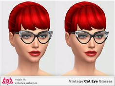 Colores Urbanos' Vintage Cat Eye Glasses