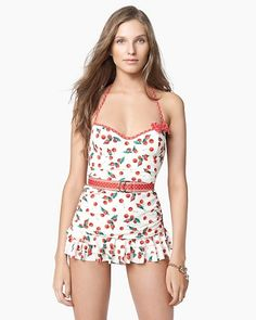 so cute! This is a swimsuit, not a dress, right?