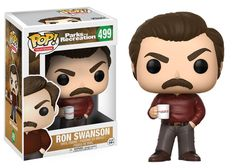 Pop! Television: Parks and Recreation - Ron Swanson