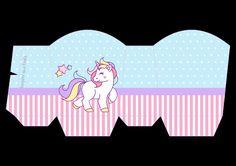 Caja abierta Unicornio