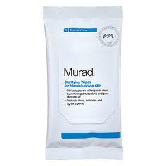 Clarifying Wipes For Blemish-Prone Skin - Murad | Sephora
