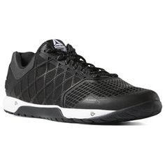 Reebok Shoes Men s Nano 4 CrossFit® Excuses in Black White Size 10 -  Training Shoes ba629779b