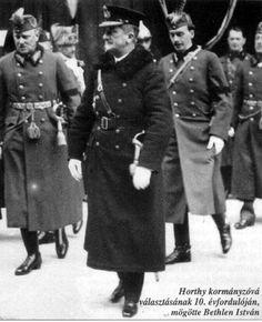 Horthy15 - Horthy Miklós (kormányzó) – Wikipédia Defence Force, Military Pictures, Ww2, Austria, Germany, Army, History, Coat, Portugal