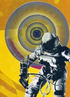 Archival Print - Spaceman