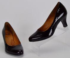 Sofft Women's Size 7 M Black Patent Leather Heels #Sofft #PumpsClassics…