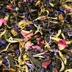 Lumière du Matin. Thé vert et blanc mangue, bergamote. http://teaandty.com/the-vert-aromatise/74-lumiere-du-matin.html