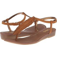 Womens Sandals CARLOS by Carlos Santana Farrah Tawny Tan