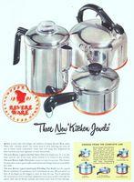 Revere Ware Coffee Percolator 1948 Ad Picture