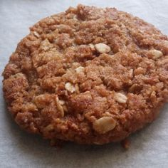 Chewy Vegan Anzac Biscuits