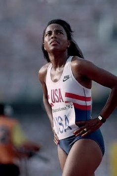 Evelyn Ashford - Four Olympic golds & a silver over 3 games, Ashford won the prestige 100m race in the Los Angeles games of 1984. She was the first woman to run under 11 seconds. 8 years later in Barcelona, aged 35 she won her third 4x100m relay gold. It was Ashford's doggedness which set her apart, rather than statistics. Always returning from injury with titles or world records. She coached herself from 1985 until she retired. 1992/Barcelona