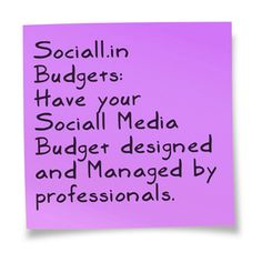 #Specific and #measurable results through professional Social Media #budgets.