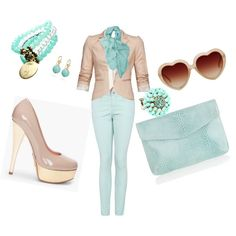 Neutral, created by tcamtrip on Polyvore