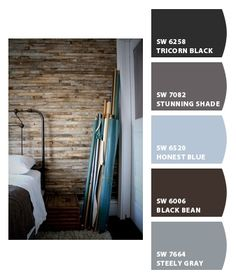 MASTER BEDROOM: Paint colors from Chip It! by Sherwin-Williams