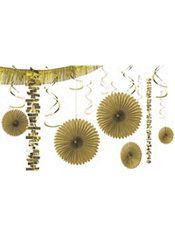 Gold Decorating Kit 18pc